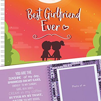 Best Girlfriend Ever Memory Book