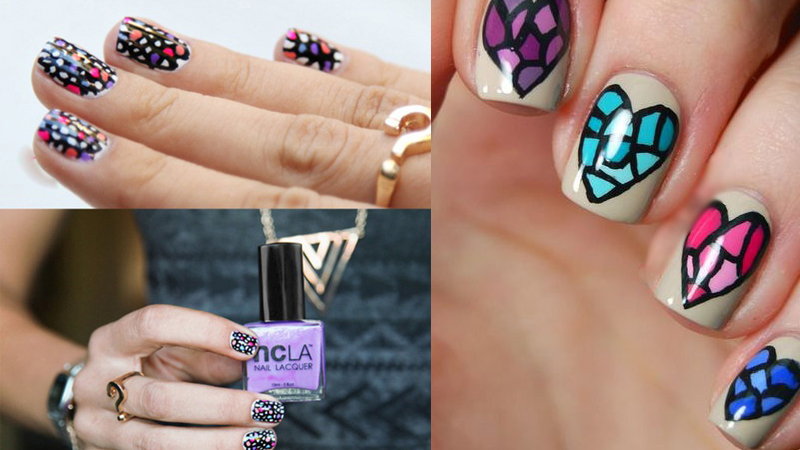 Best Mosaic Nail Art Designs with Pictures