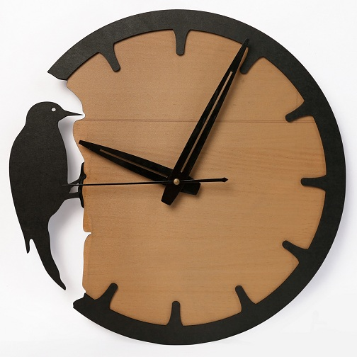 Bird's Designer Wall Clock