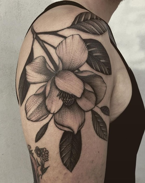 Flower Tattoos For Men