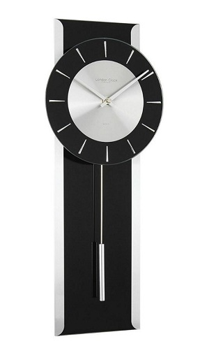 Black Pendulum Clock