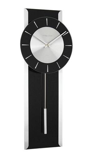 Black Pendulum Clock