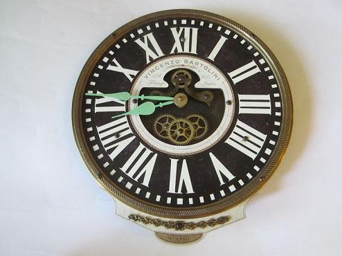 Black Quartz Clock
