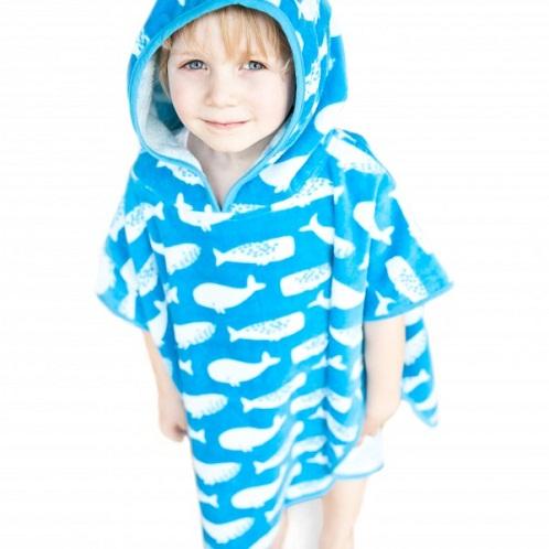 Blue Printed kids Towels