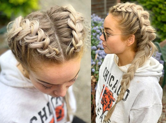 Braided Pony Pigtail