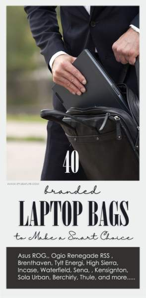 40 Best Branded Laptop Bags to Make a Smart Choice