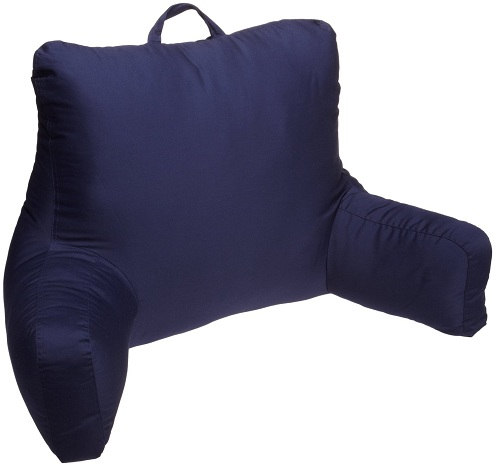 Brent wood Blue Brushed Twill Pillow