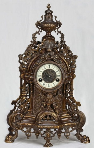 Bronze Mechanical Clock
