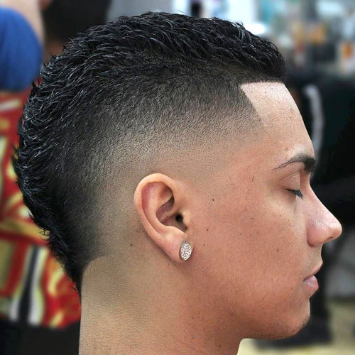 Burst Fade Mexican Haircut: