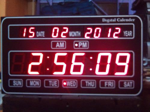 Calendar LED Clock