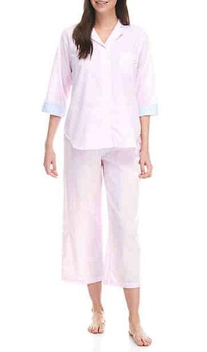 Capri Pant Pajama Set