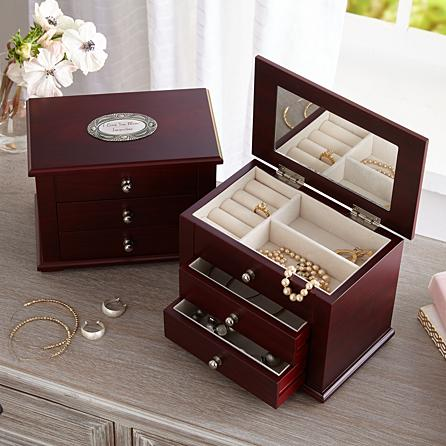 Charming wood Jewel box Birthday Gifts