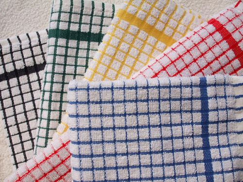 Checker Terry Towel