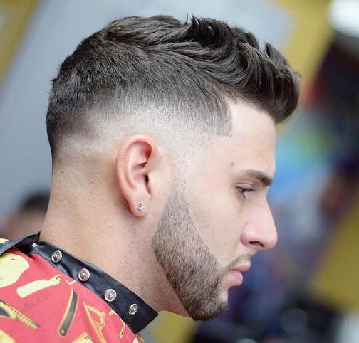 Classic Tapered Sides with Textured Fohawk