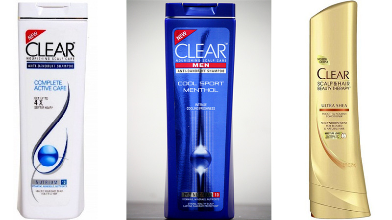 Clear Shampoos
