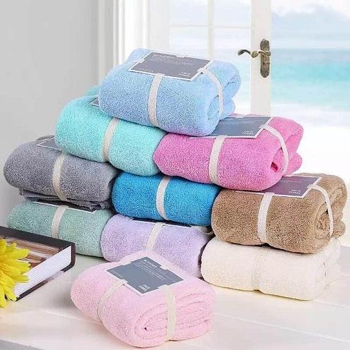 Colorful Microfiber Towels