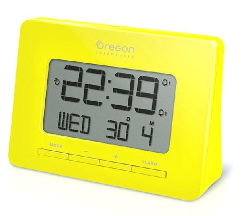 Colorful Panel Atomic Clock