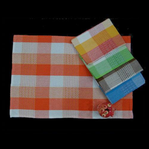 Colour checks Hand Terry Towel