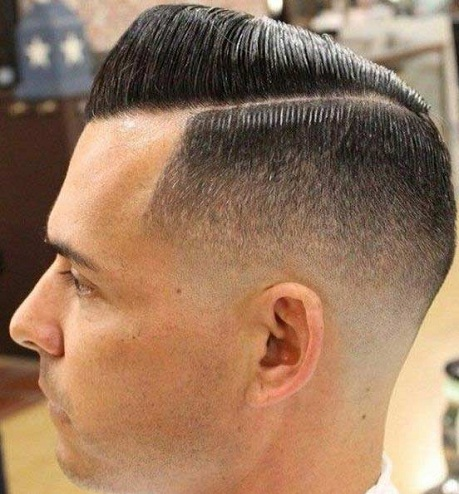 Comb Over High Fade