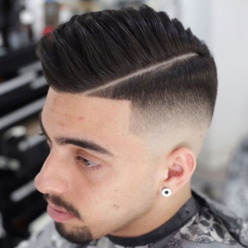 9 Simple and Perfect Comb Over Hairstyles for Men | Styles At Life