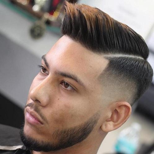 Comb Over Pompadour