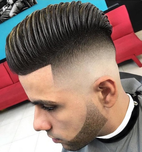 Comb Over Skin Fade