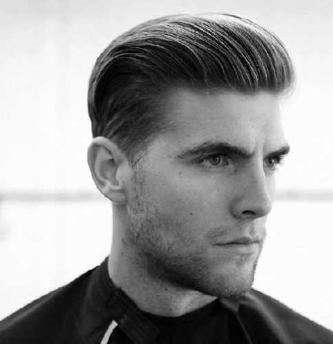 9 Awesome Brush Back Hairstyles For Men With Images Styles At Life
