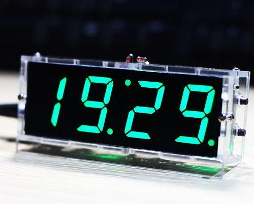 Compact LED Clock