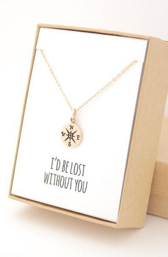Compass Heart Jewelry