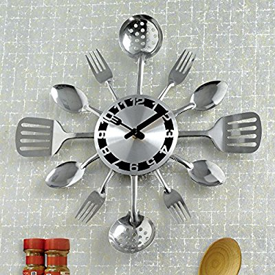 Contemporary Kitchen Utensils Designer Clocks