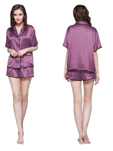 Contra Short Silk Pajama Set