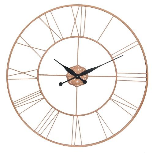 Copper Kitchen Clock