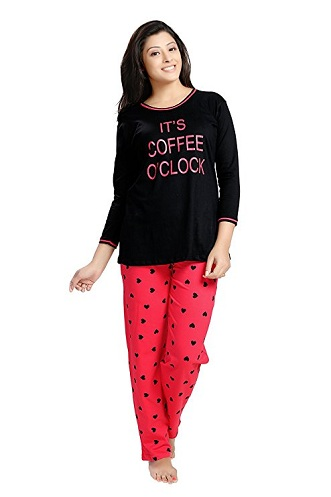 Cotton Printed Women's Pajama Set
