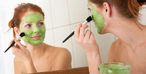 Cucumber Face Mask for Infection