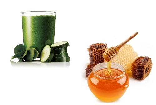 Cucumber Juice with Honey