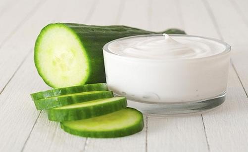 Cucumber Juice with Milk