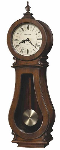 Curved Chiming Clock
