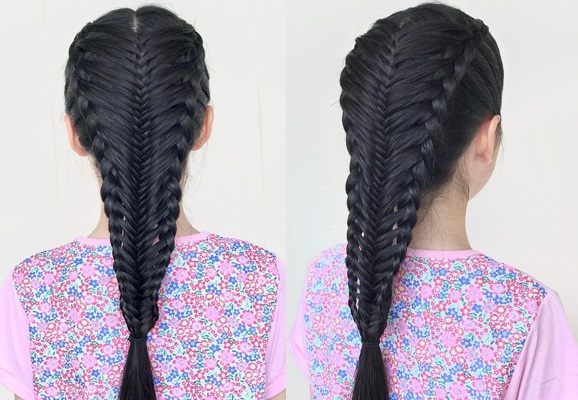 Cute Braids All Over for Toddlers