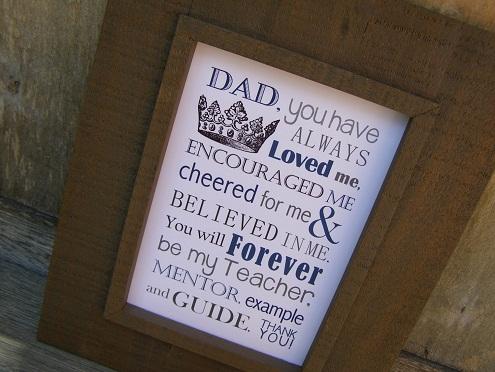 Dad poem Gifts