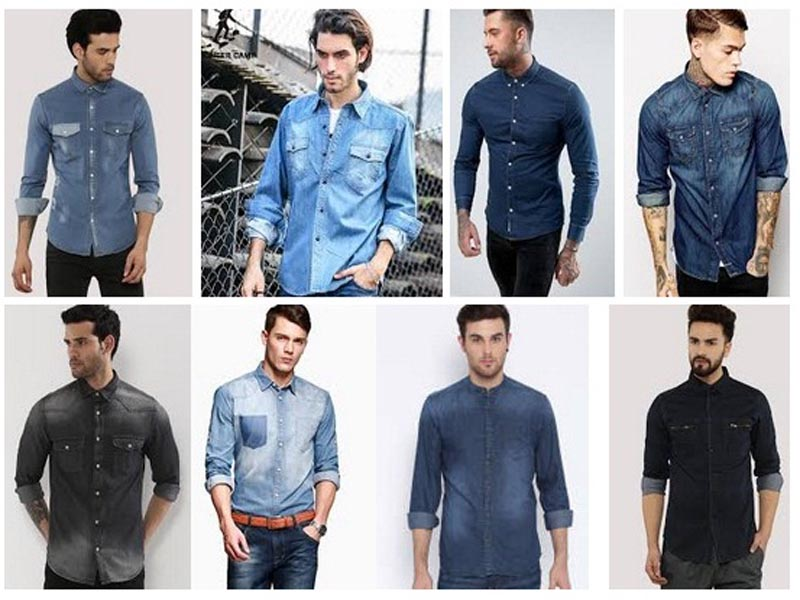 Denim Shirts for Men in Fashion