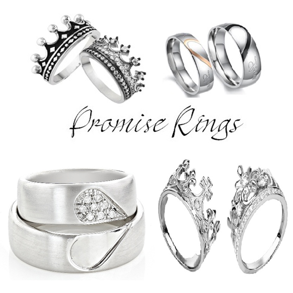 Different Types of Promise Rings with Names and Meanings