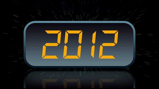 Digital LCD Screen New Year's Countdown Clock