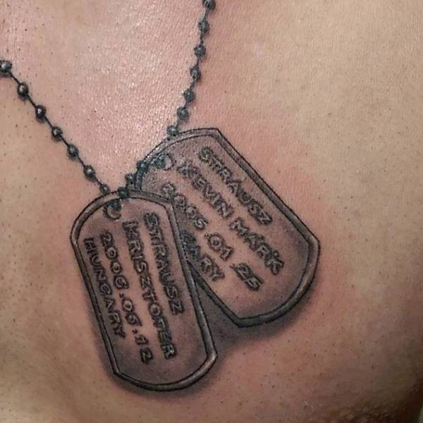 Dog Tag Tattoos