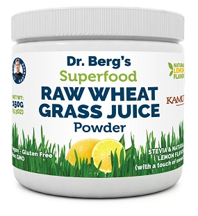 Dr Berg's Raw Wheatgrass Juice Powder