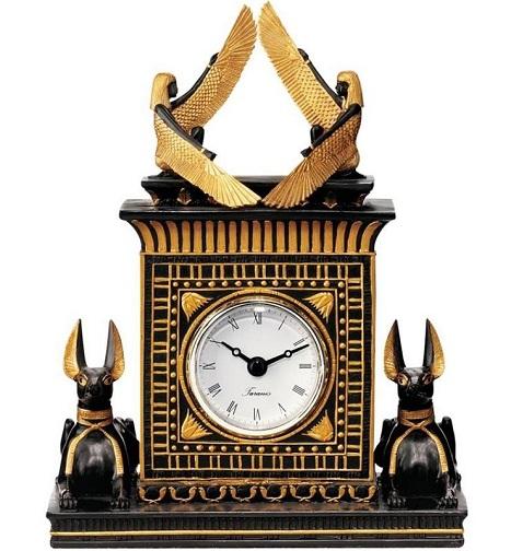 Egyptian Style Quartz Clock