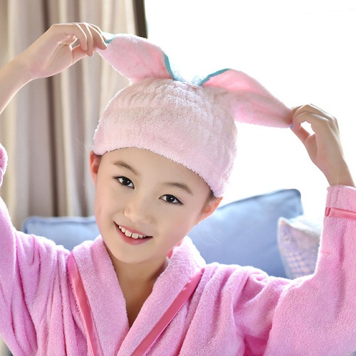 Embroidery Hair Towel