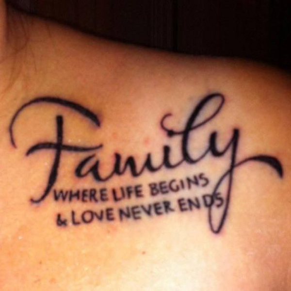 family tattoo designs