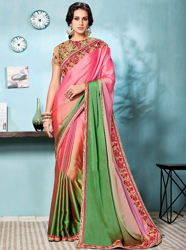 48df5e3597 30 Elegant Designs of Fancy Sarees and Tips To Wear | Styles At Life