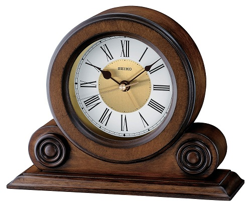 Fancy Wooden Desk Clock