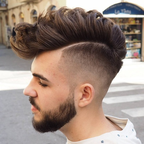 Faux Hawk with Tapered Haircut